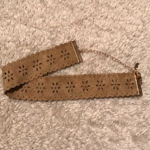 Jewelry - Brown choker